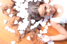 Todo corazón! Gústame facer cousas xeitosas de papel, tanto como sacar fotos!