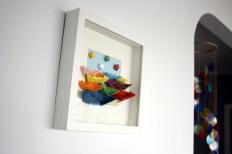 O primeiro cadro de barquiñas mimadriña. Agosto 2012.