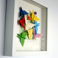 O primeiro cadro de bolboretas, así nacen os personaxes en mimadriña! Agosto 2012.