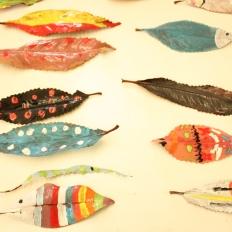 Unhas follas de peixe