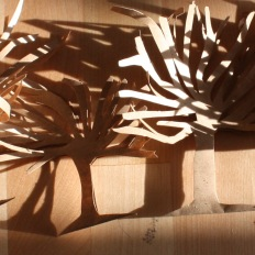 Árbores de papel