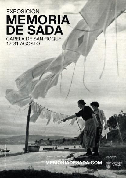 Cartel da exposición de Memoria de Sada